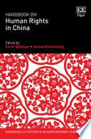 Handbook on Human Rights in China