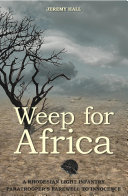 Weep for Africa