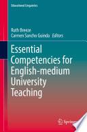 Essential Competencies for English medium University Teaching