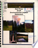 Nez Perce National Forest  N F    Red Pines Project Area Book