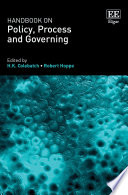 Handbook On Policy Process And Governing