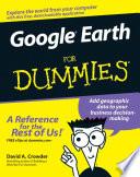 Google Earth For Dummies Book