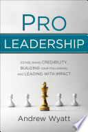 Pro Leadership Book