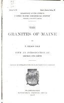 The Granites of Maine