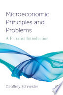 Microeconomic Principles and Problems Book