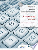 Cambridge International AS and a Level Accounting Second Edition