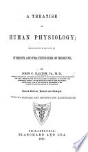 A Treatise On Human Physiology Designed For The Use Of Students And Practitioners Of Medicine Second Edition Revised And Enlarged Etc
