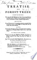 A Treatise On Forest Trees The Third Edition