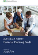 Cover of Australian Master Financial Planning Guide 2018/19