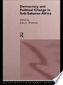 Democracy And Political Change In Sub Saharan Africa