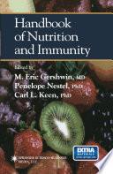 Handbook Of Nutrition And Immunity Book PDF