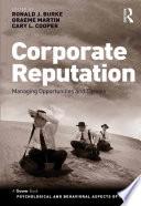 Corporate Reputation