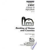 1997 Census of Agriculture: Ranking of states and counties