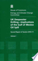 UK deepwater drilling   implications of the Gulf of Mexico oil spill