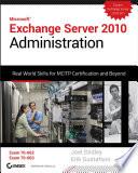 Exchange Server 2010 Administration Book PDF