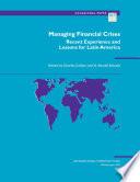 Managing Financial Crises