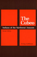 The Cubeo Indians of the Northwest Amazon ebook