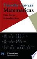 Matemáticas: una breve introducción
