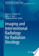 Imaging And Interventional Radiology For Radiation Oncology Book PDF
