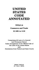United States Code Annotated Book