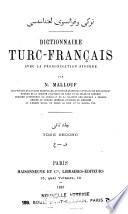 Dictionnaire turc-français avec la prononciation figurée