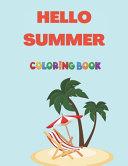 Hello Summer Coloring Book
