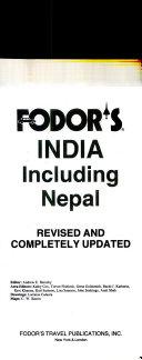 Fodor's India Including Nepal