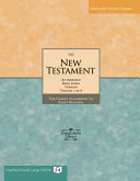 The New Testament of the King James Bible: the Gospel According to Saint Matthew