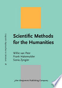 Scientific Methods for the Humanities