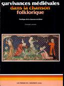 Pdf Survivances médiévales dans la chanson folklorique Telecharger