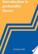 An Introduction to Probability Theory