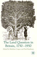 The Land Question in Britain  1750 1950