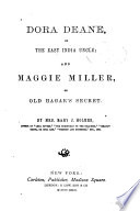 Dora Deane  Or The East India Uncle Book