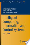 Intelligent Computing Information And Control Systems Book PDF