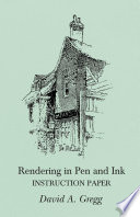 Rendering in Pen and Ink   Instruction Paper Book