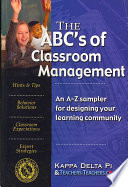 The ABC's of Classroom Management