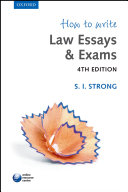 How to Write Law Essays   Exams