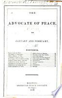 Advocate of Peace Book
