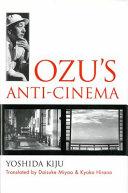 Ozu s Anti cinema