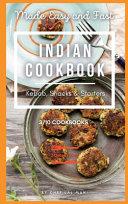 Indian Cookbook   Kebab  Snacks and Starters