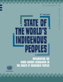 State of the World's Indigenous Peoples Pdf/ePub eBook