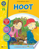 Hoot   Literature Kit Gr  5 6 Book