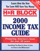 H And R Block 2000 Income Tax Guide Book PDF