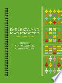 Dyslexia And Mathematics Book PDF