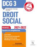 Pdf DCG 3 Droit social - Manuel - 2021/2022 Telecharger