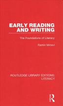 Early Reading and Writing