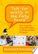 Ebook Talk For Writing In The Early Years How To Teach Story And Rhyme Involving Families 2 5 Revised Edition
