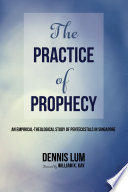 The Practice Of Prophecy