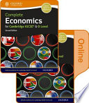 Complete Economics for Cambridge IGCSE and O Level Print and Online Student Book
