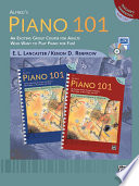 Alfred's Piano 101: Teacher's Handbook for Books 1 & 2